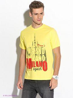 Футболки D.S                                                                                                              желтый цвет
