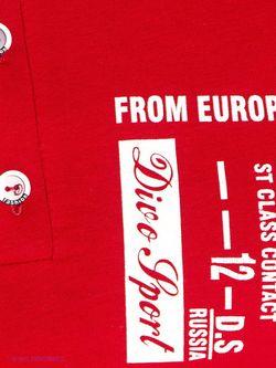 Футболки D.S                                                                                                              красный цвет
