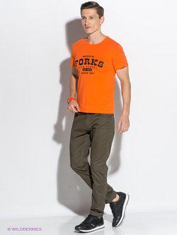 Футболки D.S                                                                                                              оранжевый цвет