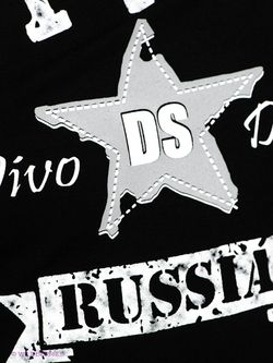 Футболка D.S                                                                                                              черный цвет