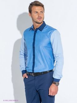 Рубашки Hazard                                                                                                              голубой цвет