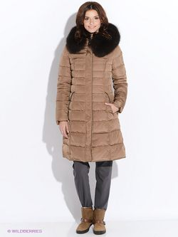 Пальто SNOWIMAGE                                                                                                              коричневый цвет