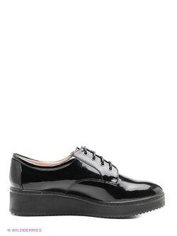 Туфли Valley                                                                                                              чёрный цвет