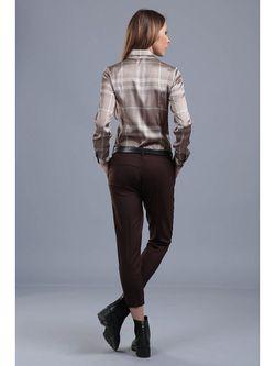 Блузки ЭНСО                                                                                                              коричневый цвет