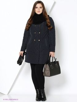 Пальто Electrastyle                                                                                                              синий цвет