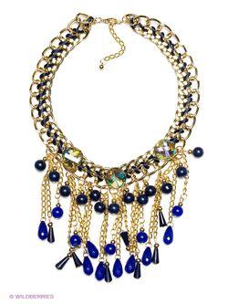 Колье Bijoux Land                                                                                                              синий цвет