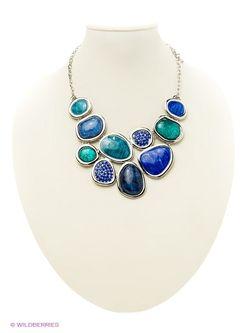 Комплекты Бижутерии Bijoux Land                                                                                                              синий цвет