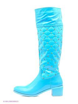 Сапоги Vivian Royal                                                                                                              голубой цвет