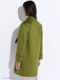 Пальто PAROLE by Victoria Andreyanova                                                                                                              зелёный цвет
