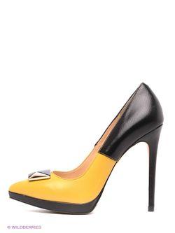 Туфли Moda Donna                                                                                                              желтый цвет