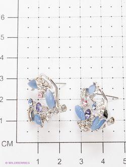 Серьги Royal Diamond                                                                                                              синий цвет