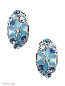 Серьги Royal Diamond                                                                                                              голубой цвет