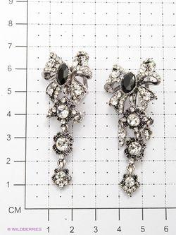 Серьги Royal Diamond                                                                                                              чёрный цвет