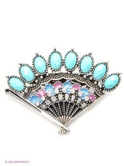 Броши Royal Diamond                                                                                                              голубой цвет