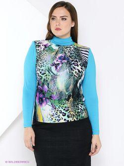 Блузки Полина                                                                                                              голубой цвет