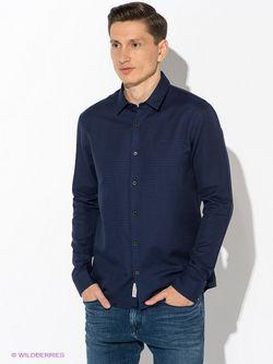 Рубашки Calvin Klein                                                                                                              синий цвет