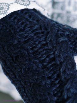 Варежки Luhta                                                                                                              синий цвет