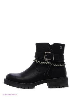 Ботинки Refresh                                                                                                              чёрный цвет