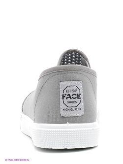 Кеды Face                                                                                                              серый цвет