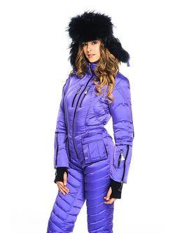 Комбинезоны Odri                                                                                                              фиолетовый цвет