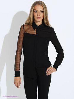 Блузки Guess                                                                                                              чёрный цвет
