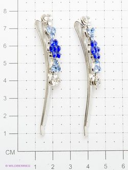 Заколки Migura                                                                                                              синий цвет
