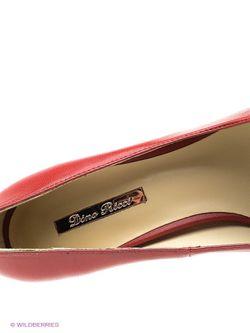 Туфли Dino Ricci                                                                                                              красный цвет