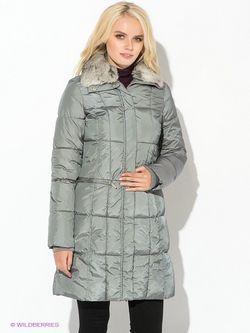 Пальто Oodji                                                                                                              серый цвет