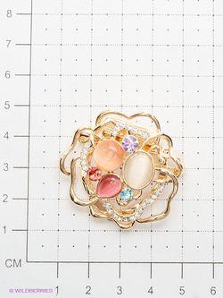 Броши Lovely Jewelry                                                                                                              оранжевый цвет