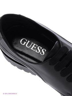 Ботинки Guess                                                                                                              чёрный цвет
