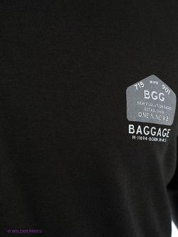 Лонгслив BAGGAGE                                                                                                              чёрный цвет