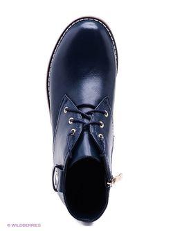 Ботинки Makfly                                                                                                              синий цвет