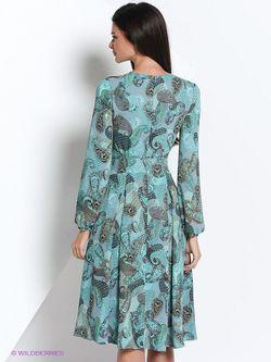 Платья Elena Shipilova                                                                                                              Бирюзовый цвет