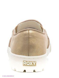 Кеды Roxy                                                                                                              желтый цвет