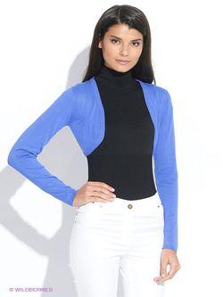 Болеро Oodji                                                                                                              синий цвет