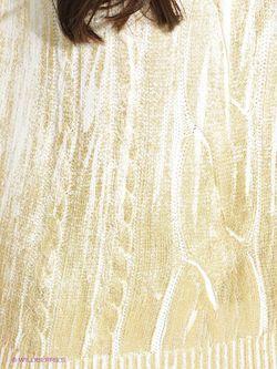 Джемперы Oodji                                                                                                              Молочный, Золотистый цвет