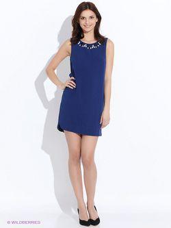 Платья Incity                                                                                                              синий цвет