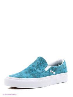 Кеды Vans                                                                                                              синий цвет