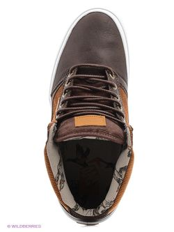 Кеды Vans                                                                                                              коричневый цвет