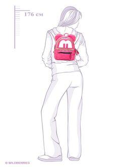 Рюкзаки Leighton                                                                                                              розовый цвет