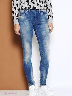 Джинсы Pepe Jeans London                                                                                                              голубой цвет