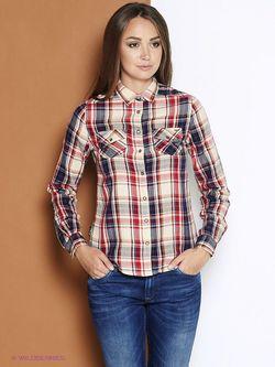 Рубашки Pepe Jeans London                                                                                                              красный цвет