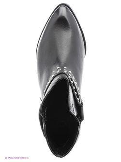 Ботинки Mango                                                                                                              черный цвет