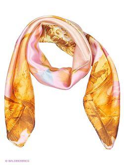 Платки Модные истории                                                                                                              оранжевый цвет