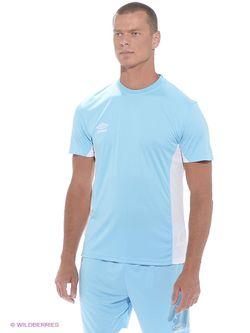 Футболка Umbro                                                                                                              голубой цвет