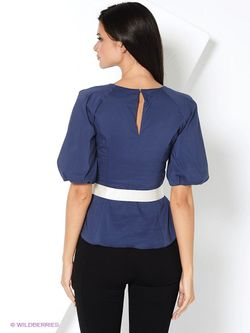 Блузки Vittoria Vicci                                                                                                              синий цвет
