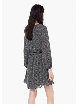 Платья Mango                                                                                                              серый цвет