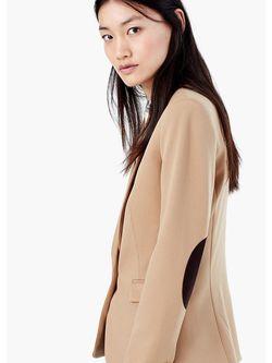 Пиджаки Mango                                                                                                              коричневый цвет