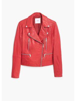 Куртки Mango                                                                                                              красный цвет