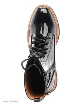 Ботинки Mango                                                                                                              чёрный цвет